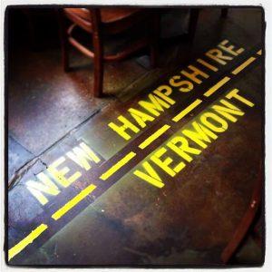 vermont/new hampshire boundary